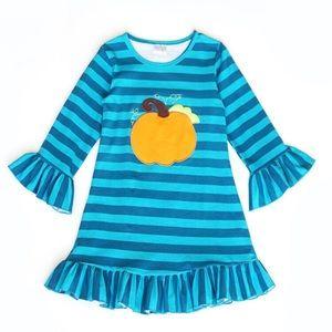 Other - Striped pumpkin dress